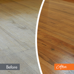 Basic Floor Renewal Before and After PA