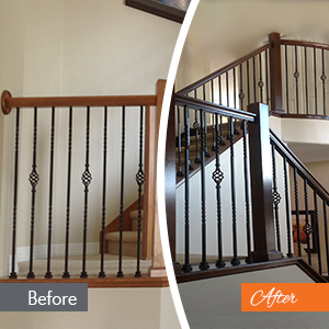 Residential Wood Refinishing Services