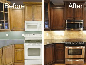 Cabinet Color Change